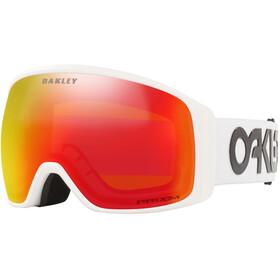 Oakley Flight Tracker XL Gafas de Nieve Hombre, rojo/blanco